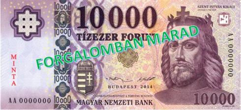 MNB 10 000 Ft-os minta | Cég & brand