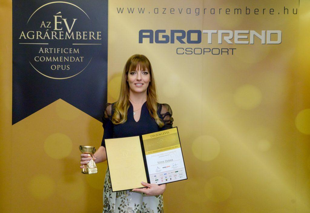 Egy díj, egy nő a mezőgazdaságban